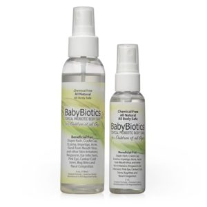 BabyBiotics - Natural Probiotics Skin Care Spray for Children of All Ages | Siani Probiotic Body Care