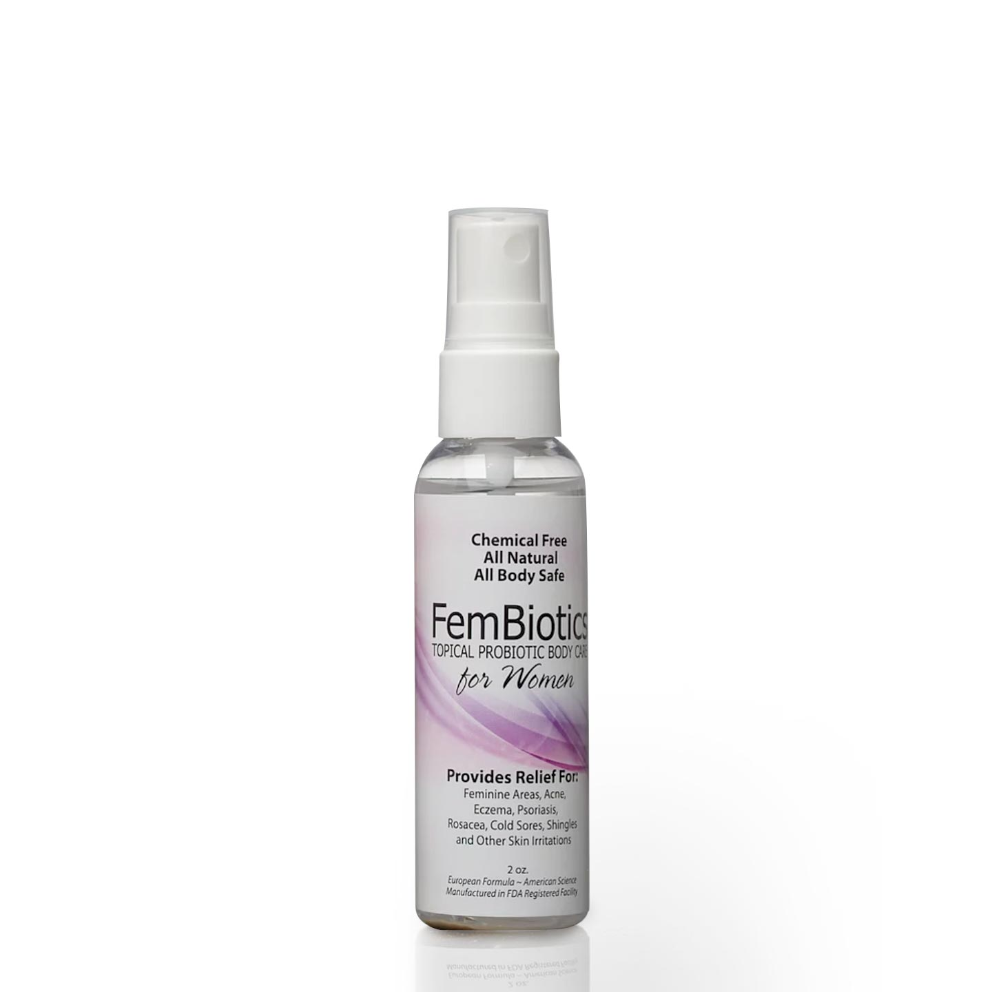 Fembiotics Natural Probiotic Skin Care Spray | Siani Skin Care Probiotic