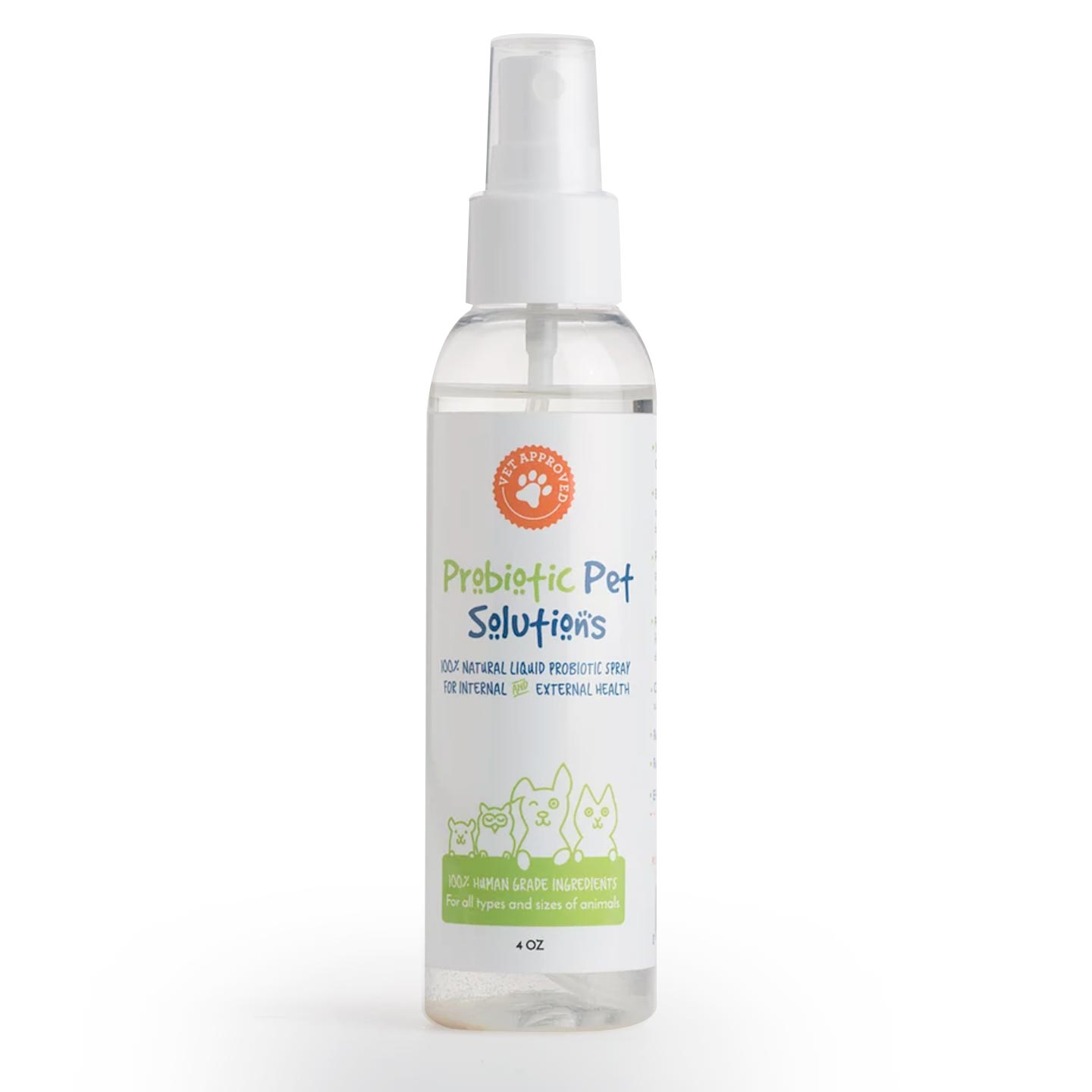 Probiotic Pet Solutions - Natural Probiotics Spray for Pet | Siani Skin Care Probiotic