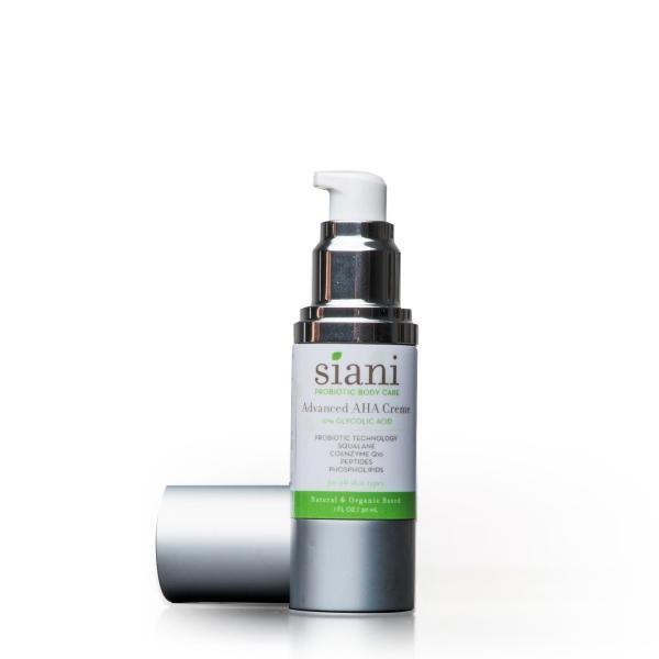 Natural Probiotic Advanced AHA Revitalizing Cream | Siani Skin Care Probiotic