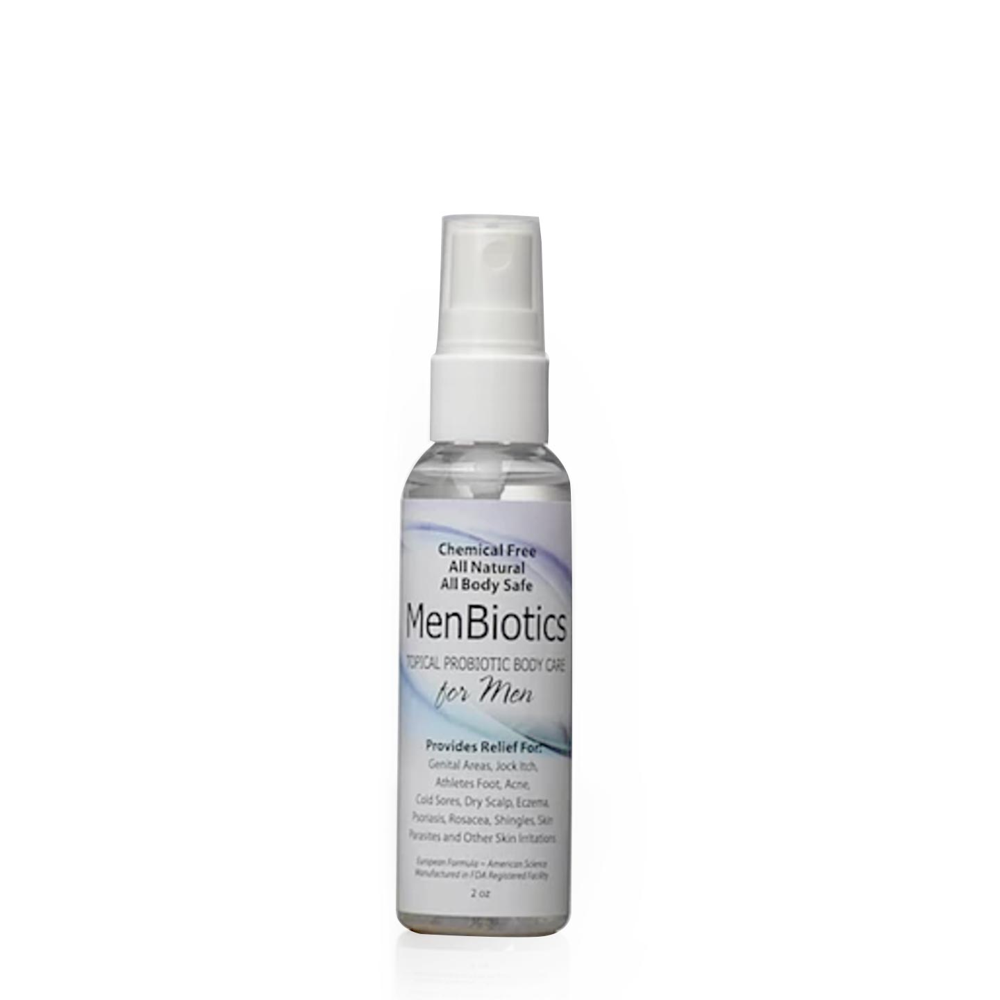 MenBiotics - Natural Probiotic Skin Care Spray for Men | Siani Skin Care Probiotic