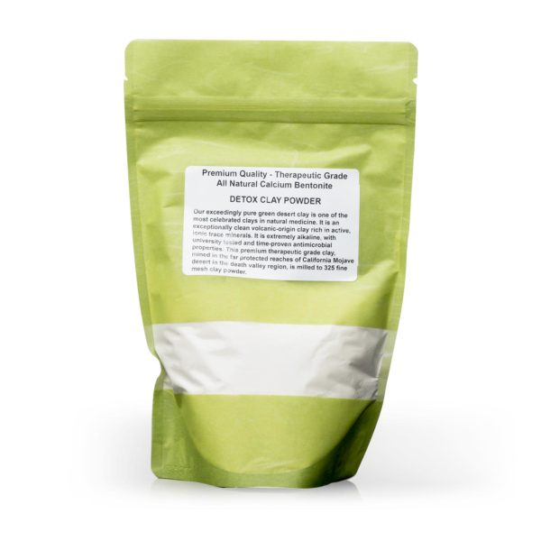 Premium Calcium Bentonite Detox Clay Powder | Siani Probiotic Body Care