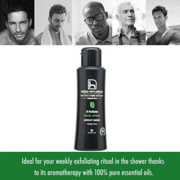 Facial Scrub for men of all types