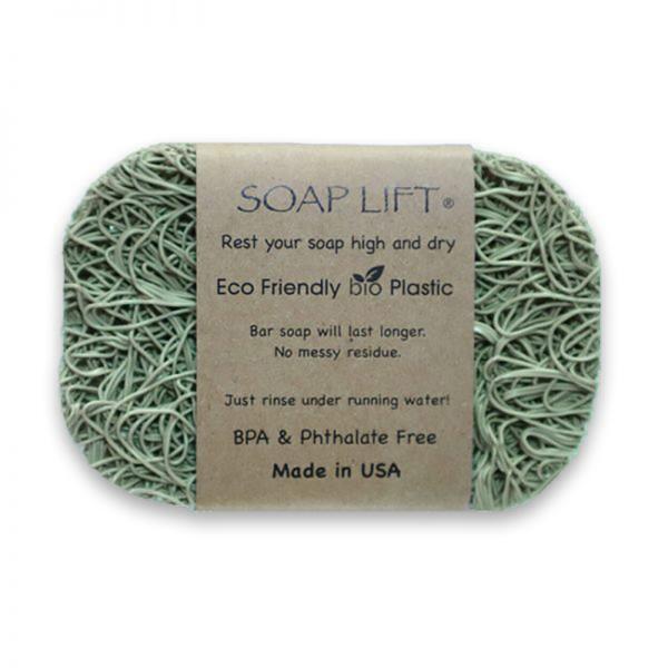 Oval Soap Lift - Green | Siani Probiotic Body Care