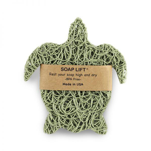 Turtle Soap Lift - Green   Siani Probiotic Body Care