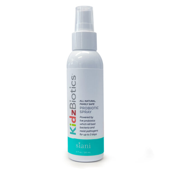 KidzBiotics - Natural Probiotics Skin Care Spray for Children of All Ages | Siani Probiotic Body Care