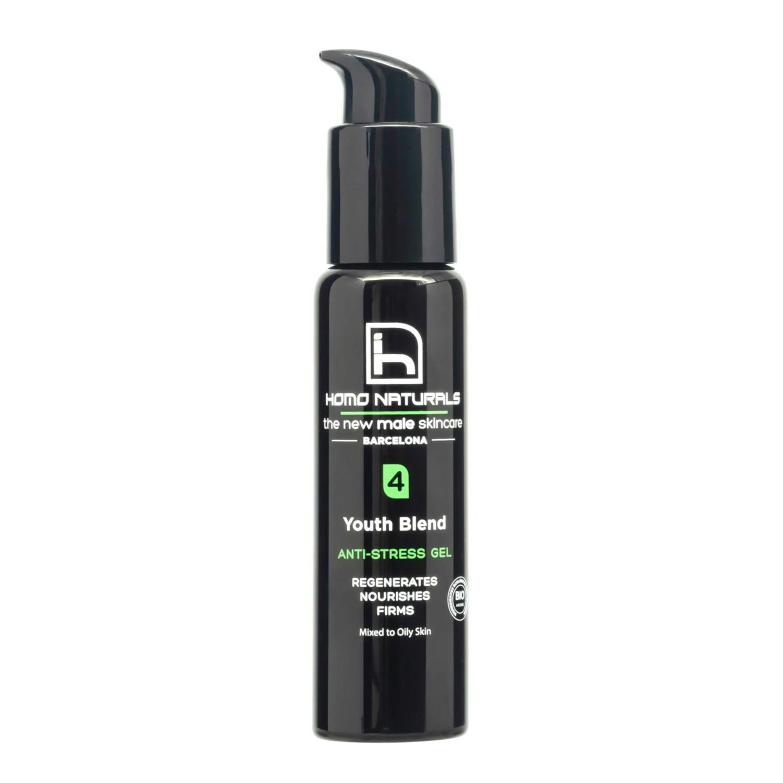 Anti-Stress Gel / Cream   Skin care for Men - Mixed to Oily Skin  Siani Probiotic Body Care