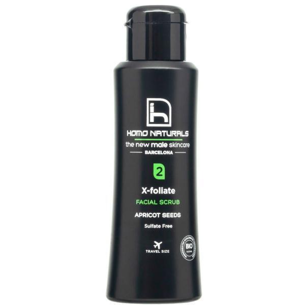exfoliating facial scrub for men